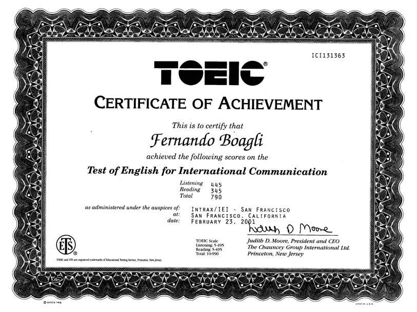 Mengenal Perbedaan Antara TOEIC dan TOEFL