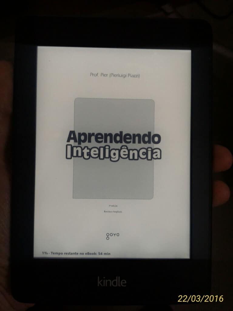 Aprendendo Inteligência - kindle